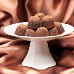 Coconut Walnut Chocolate Truffles